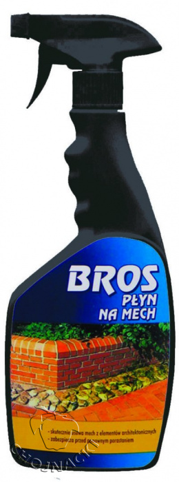 BROS PŁYN NA MECH / ATOMIZER 500ML